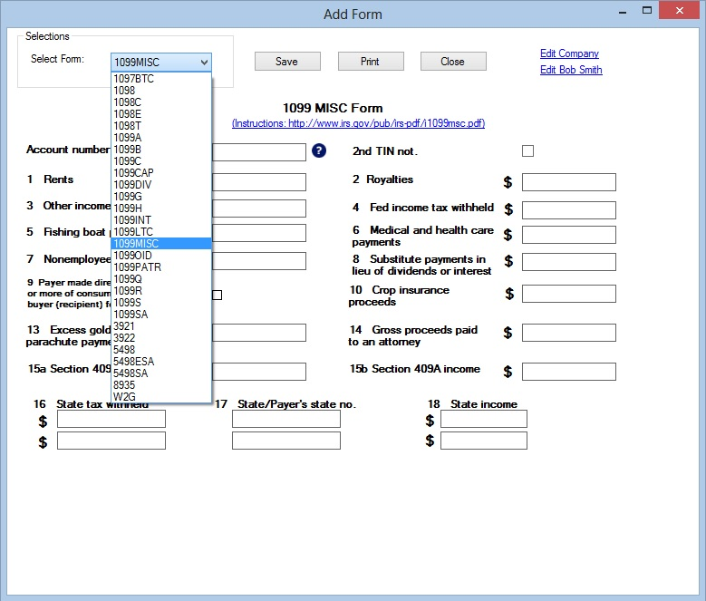 Ez1099 Software: How To File 1099's