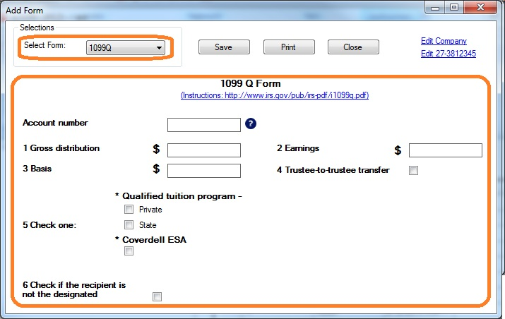 How To Print And File 1099 Q Payments From Qualified Education