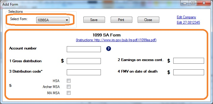 how to print and file 1099-sa