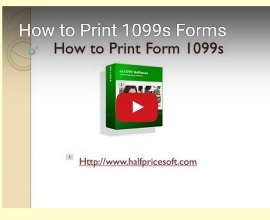 how to print 1099s form