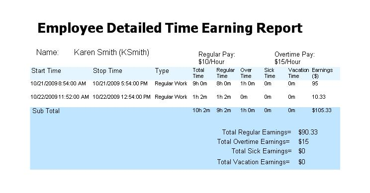 small business time sheet tracking software