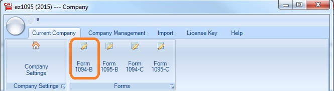 ez1095 software: How to Print Form 1095-B and 1094-B