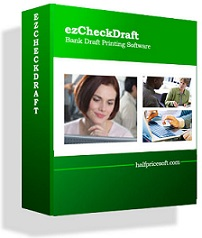 bank draft printing software