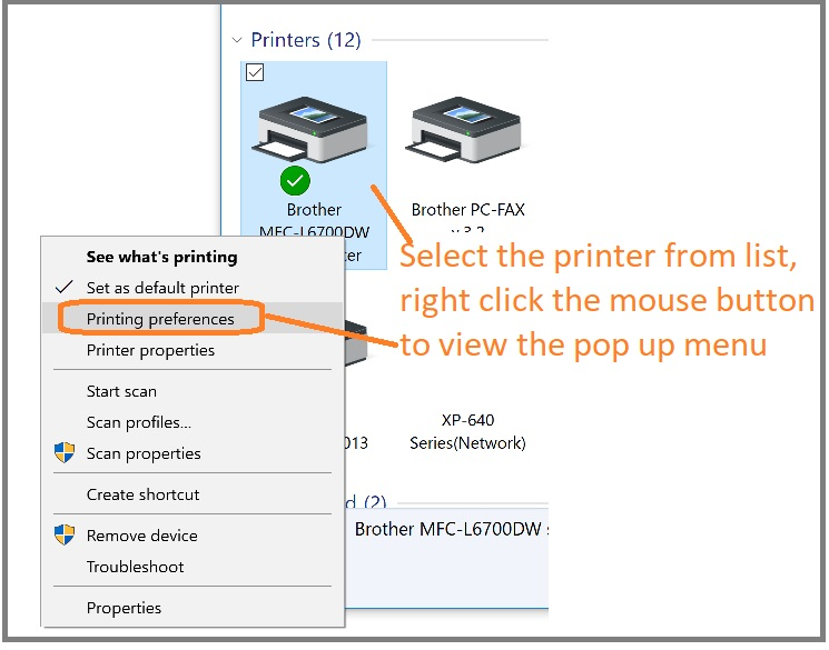 How to Select a Different Printer Paper Tray
