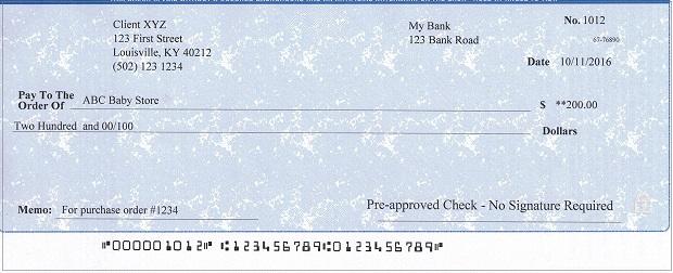 Ezcheckprinting Business Sample Checks