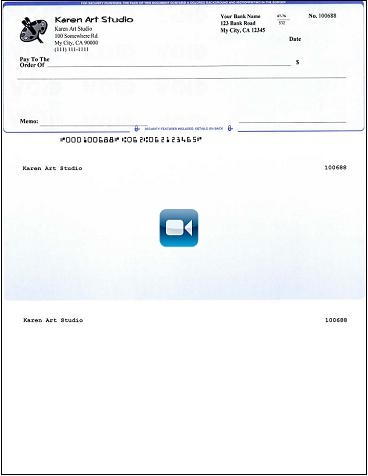 How to print quickbooks compatible micr blank checks yourself quickbooks compatible check printed by ezcheckprinting software pronofoot35fo Gallery
