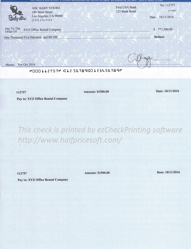 image regarding Printable Business Checks identify How towards Print Your Particular Watch within Household