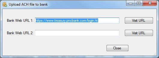 ACH Payments: Upload File