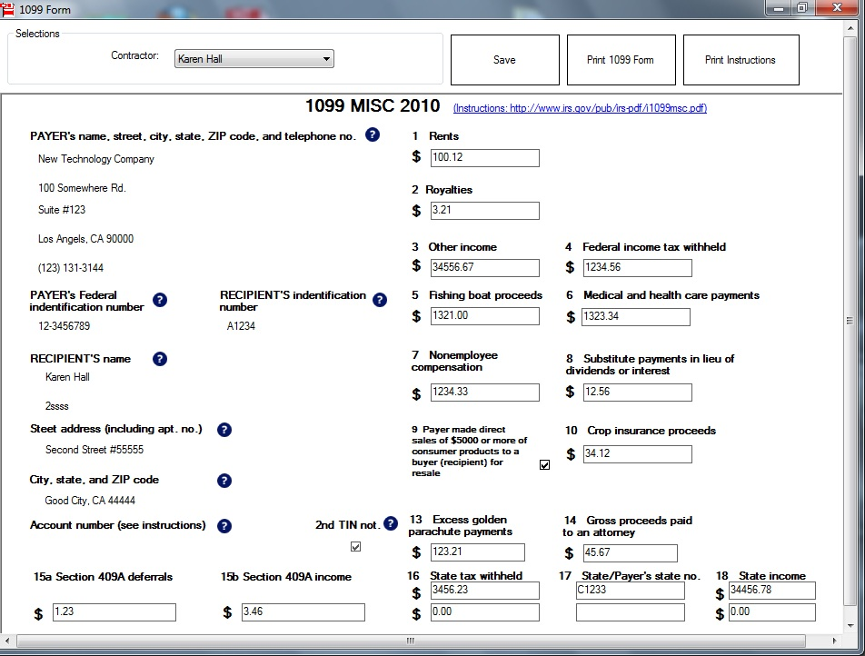 1099-MISC Form Printing: How to Convert Form into PDF Files