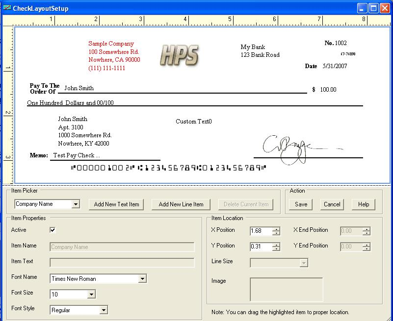 It's just an image of Witty Printable Business Checks