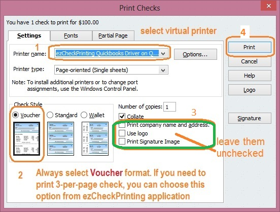 How to Remove TRIAL Watermarks when printing QuickBooks checks