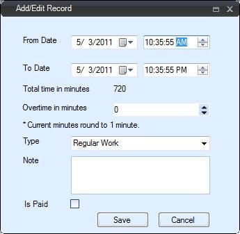 Employee TimeClock: ezTimeSheet Attendance, Vacation & Leave