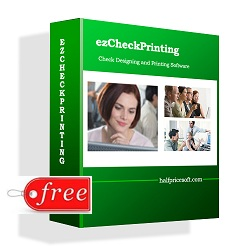 free check printing software
