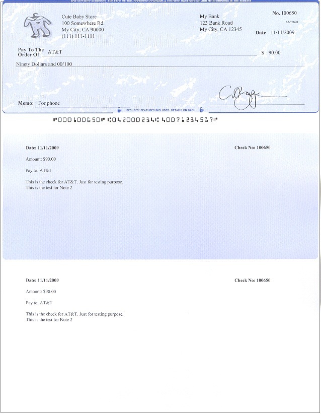 free check stub template – Payroll Stubs Templates