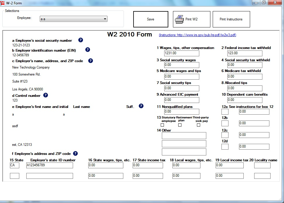 W2 1099 Misc Printing And E Filing Software Free Trial