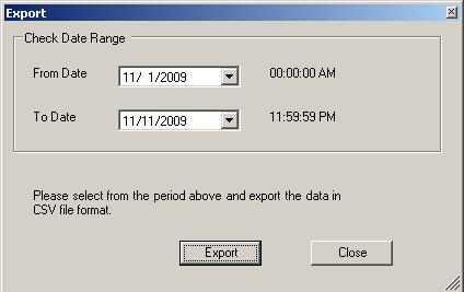 export check data to external files