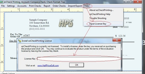 download check printing software