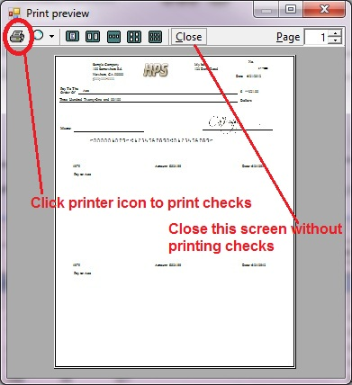 preview quickbooks checks