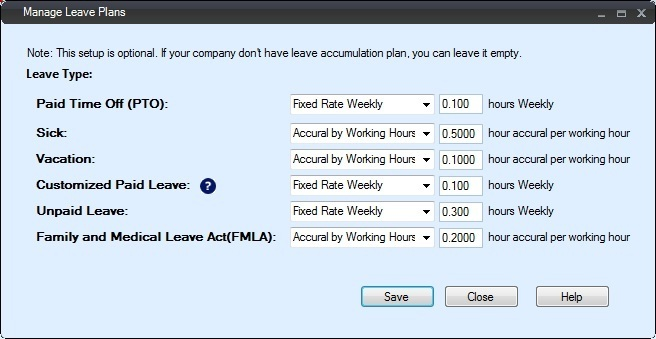 Employee TimeClock ezTimeSheet Attendance Vacation Leave Tracker