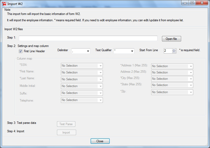 W2 & 1099-MISC Printing and E-filing Software, FREE Trial