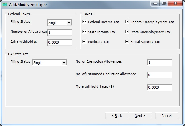 Easy-to-use Payroll Software for Small Businesses - EzPaycheck
