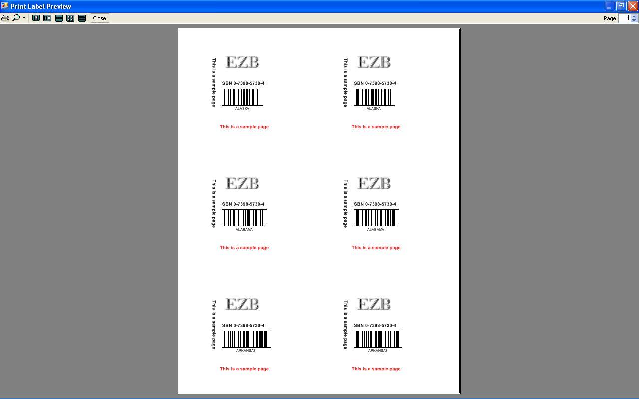 label printing software free