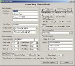 business check setup screenshot of check printing software