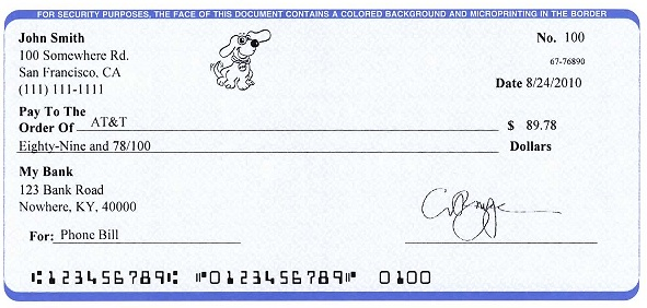 ezCheckPersonal makes it easy to print pocket-sized personal check ...