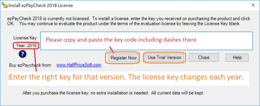 the new software that i downloaded requires a registration key