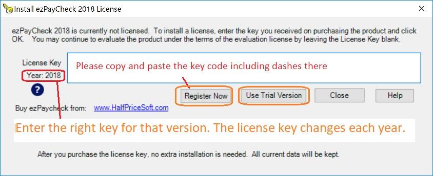 add key code