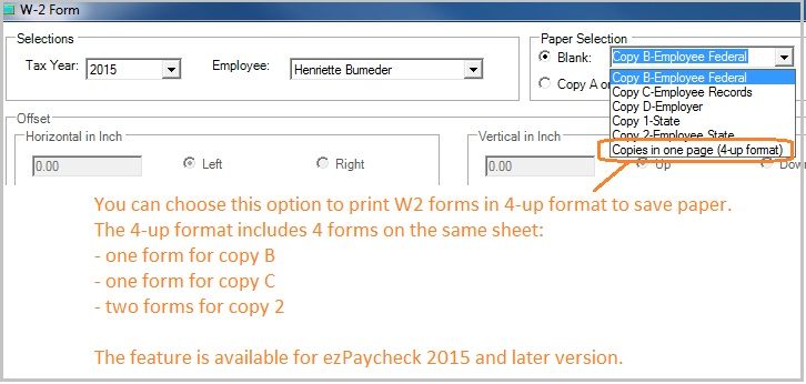 Payroll Software W2 1099 Software Check Software for small – Paycheck Format