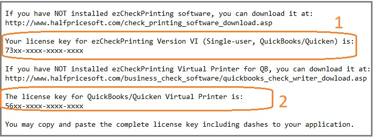 How to enter QuickBooks Virtual Printer Key code