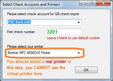 ezCheckPrinting for QuickBooks: Print Checks on Blank Stock