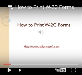 how to print W2C form